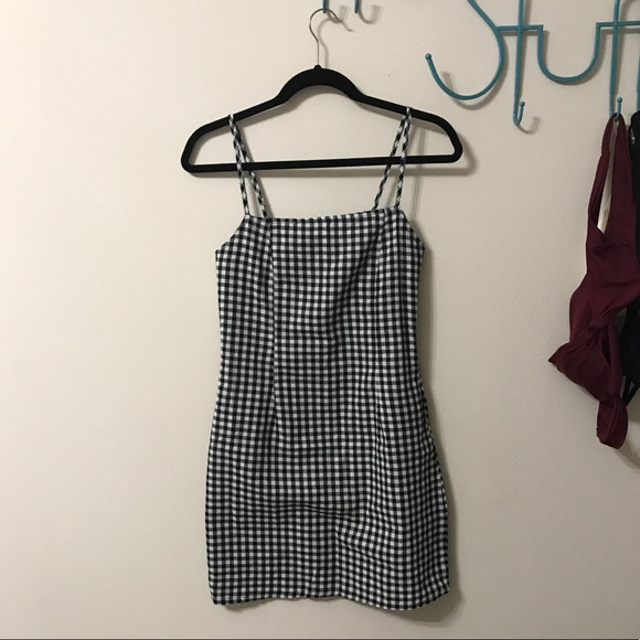Dresses & Skirts - Black Gingham Dress